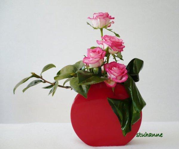 petites roses art floral bouquets et compositions. Black Bedroom Furniture Sets. Home Design Ideas
