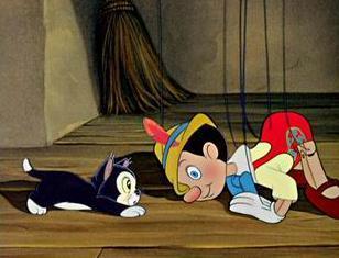 Pinocchio et son chat dessins anim s de disney - Chat dans pinocchio ...